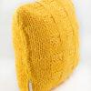 poduszka dekoracyjna hand made sznurek druty