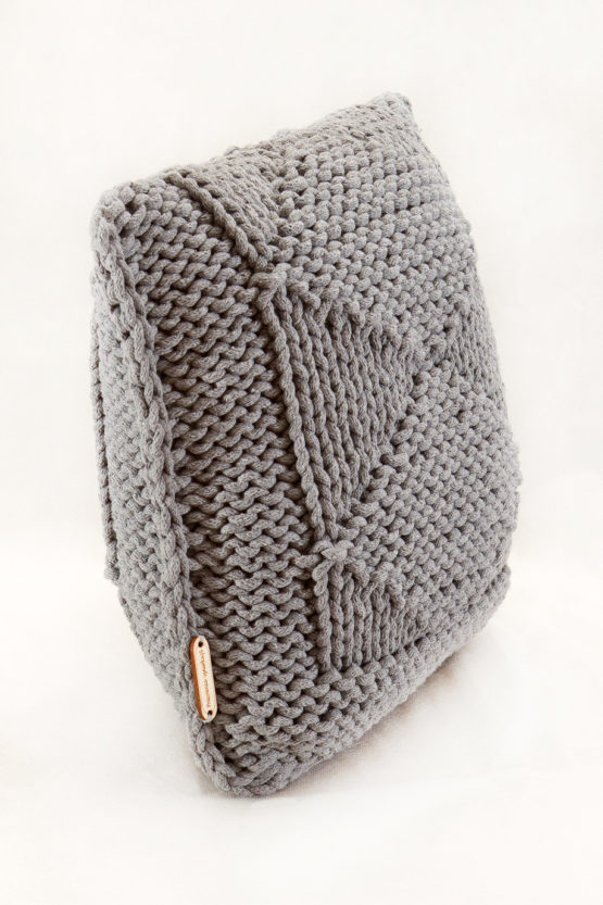 poduszka na drurach sznurek hand made