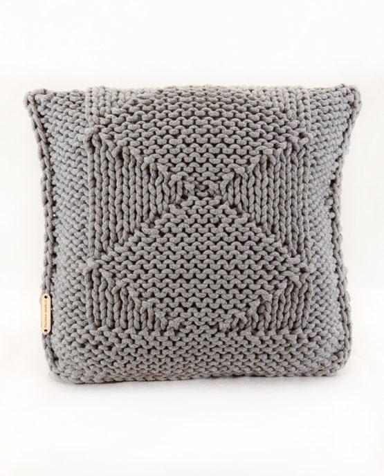handmade druty poduszka dekoracyna