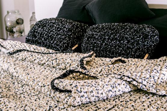 narzuta na łóżko hand made