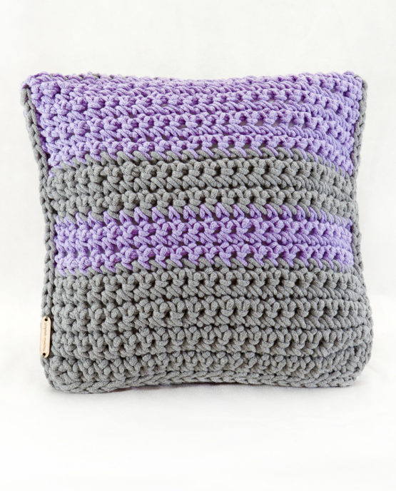 poduszka sznurek bawełniany hand made